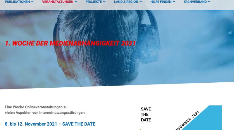Wocher der Medienabhängigkeit, 8.-12.11.2021